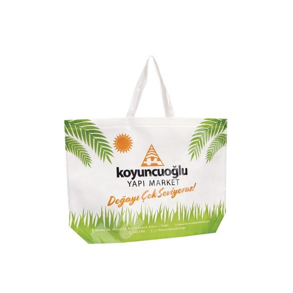 HEAT SEALED NON WOVEN BAG