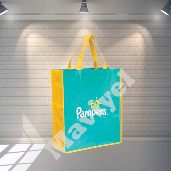 LAMINATED NONWOVEN BAGS – PAMPERS