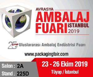 Visit Us at Eurasia Packaging Fair 2019