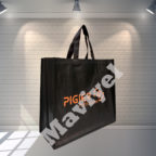 100%-recyclable-black-nonwoven-bag-with-gussets-pigier