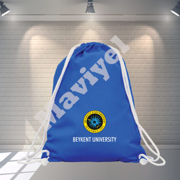 COLORED COTTON DRAWSTRING BACKPACK – BEYKENT