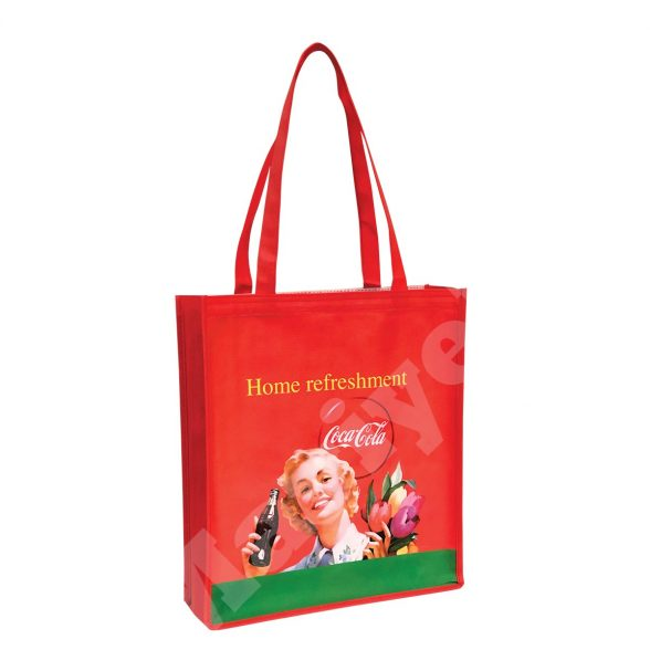 GUSSETED ECO PRO NONWOVEN BAG – COCA COLA