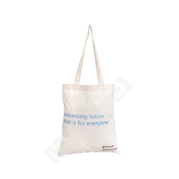FLAT MODEL NATURAL COTTON BAG – MICROSOFT