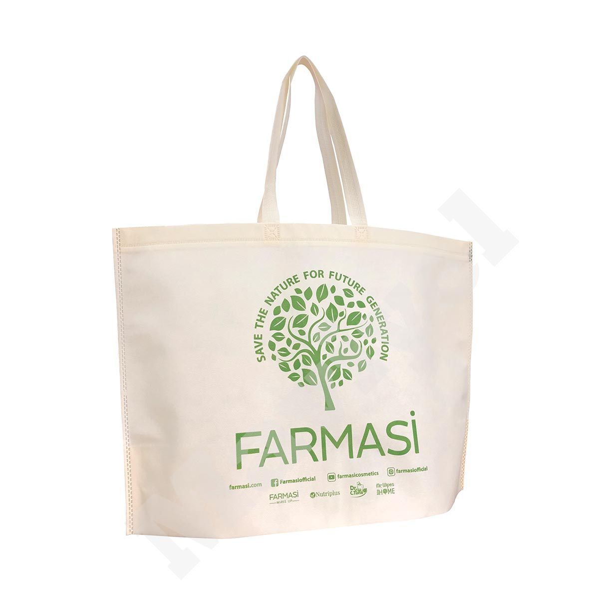 HEAT SEALED BOTTOM GUSSETED NON WOVEN BAG – FARMASI