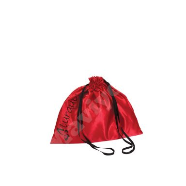 SATIN POUCH – RED